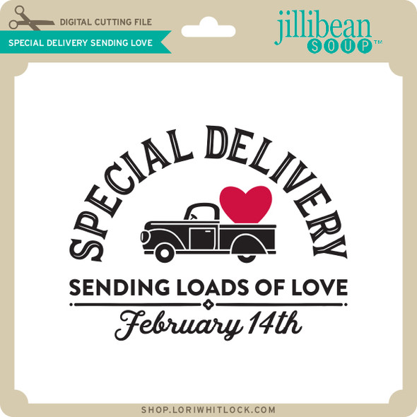 Special Delivery Sending Love