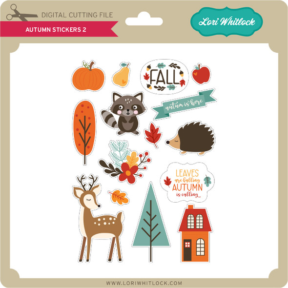 Autumn Stickers 2