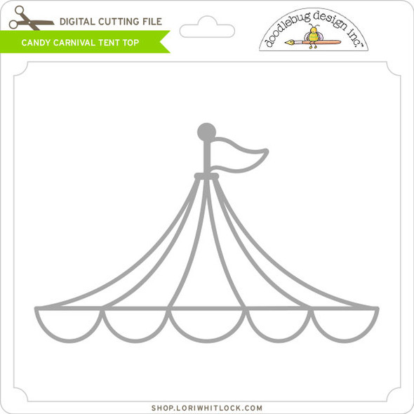 Candy Carnival Tent Top