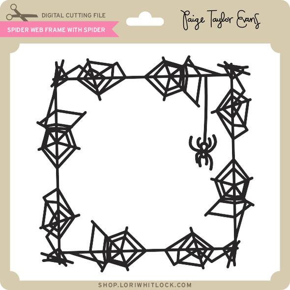 Spider Web Frame with Spider