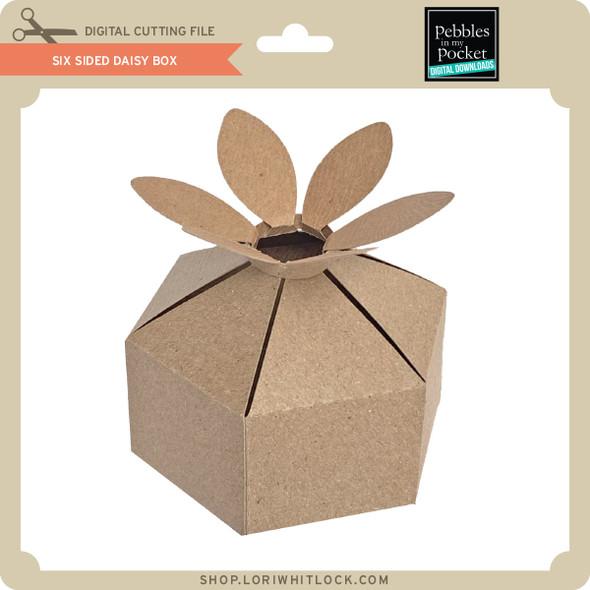 Six Sided Daisy Box