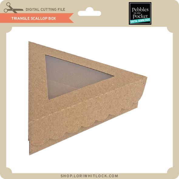 Triangle Scallop Box