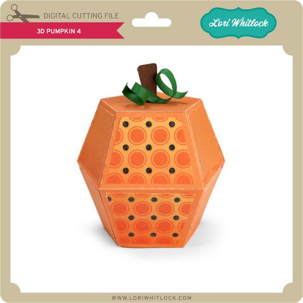 3D Pumpkin 4