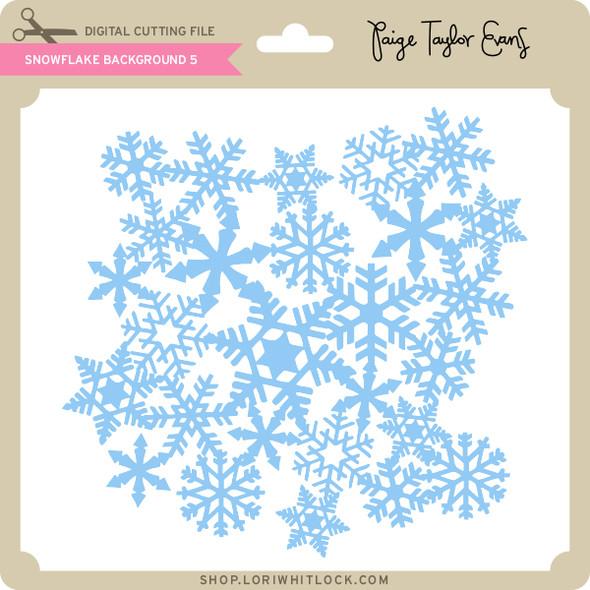 Snowflake Background 5
