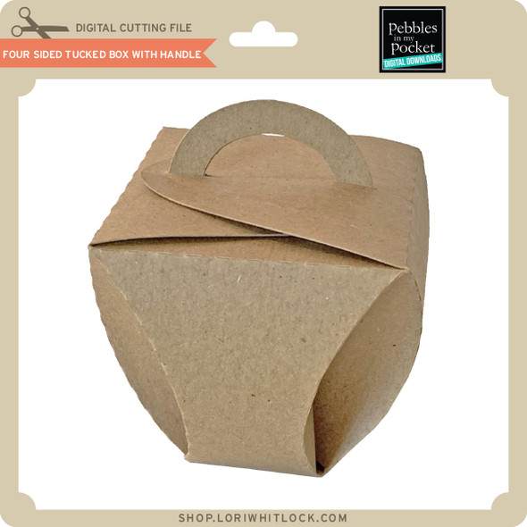 Four Sided Tucked Box with Handle