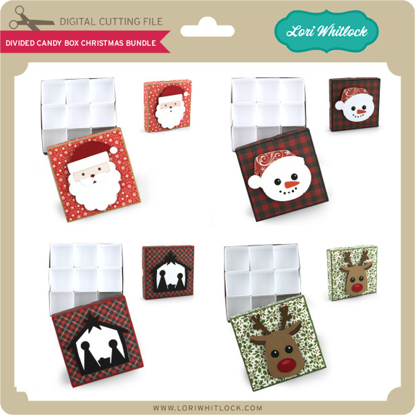 DIvided Candy Box Christmas Bundle