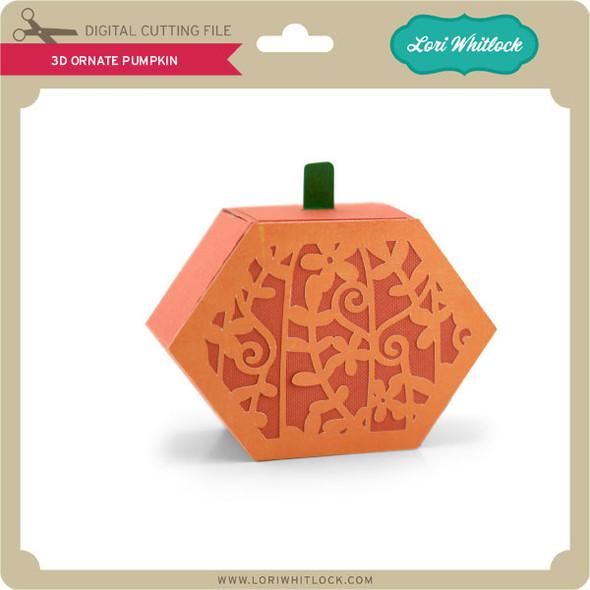 3D Ornate Pumpkin