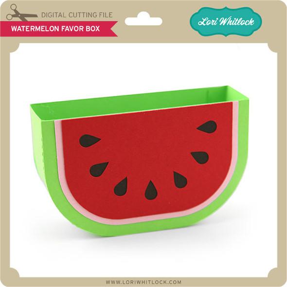 Watermelon Favor Box