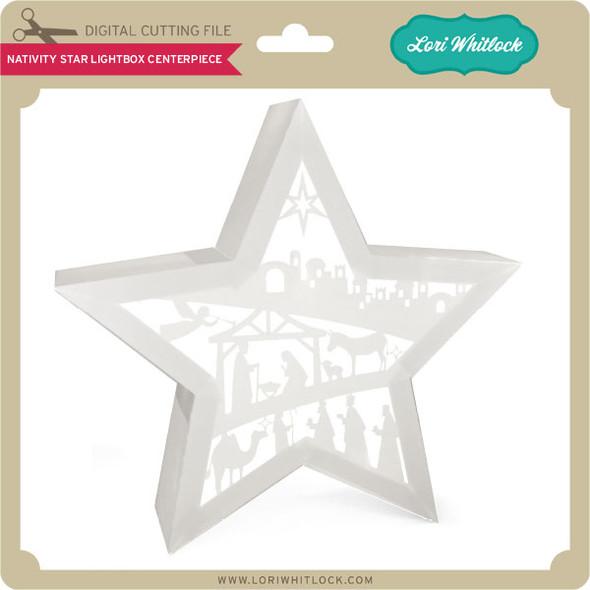 Nativity Star Lightbox Centerpiece