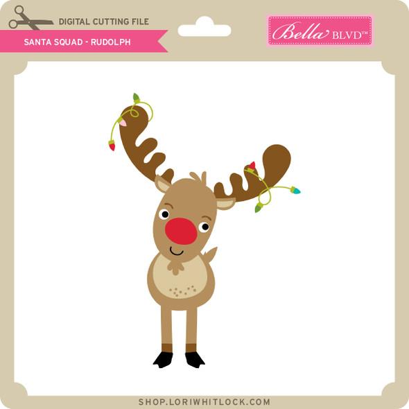 Santa Squad Rudolph