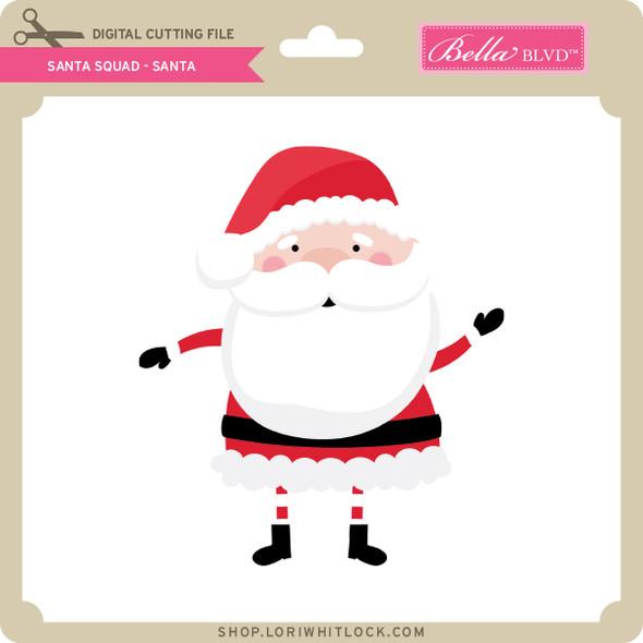 Santa Squad Santa