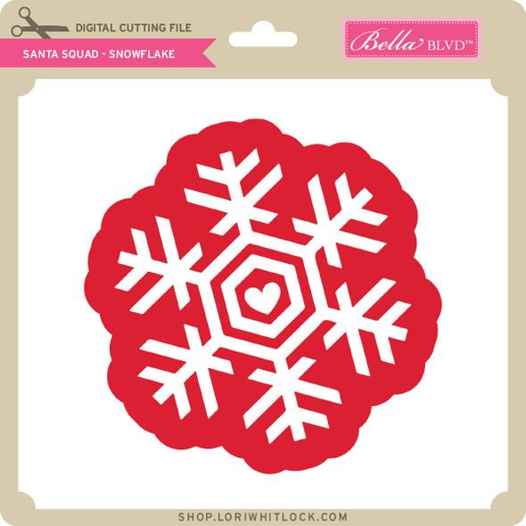 Santa Squad Snowflake