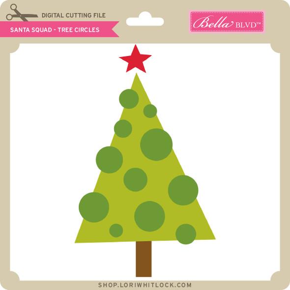 Santa Squad Tree Circles