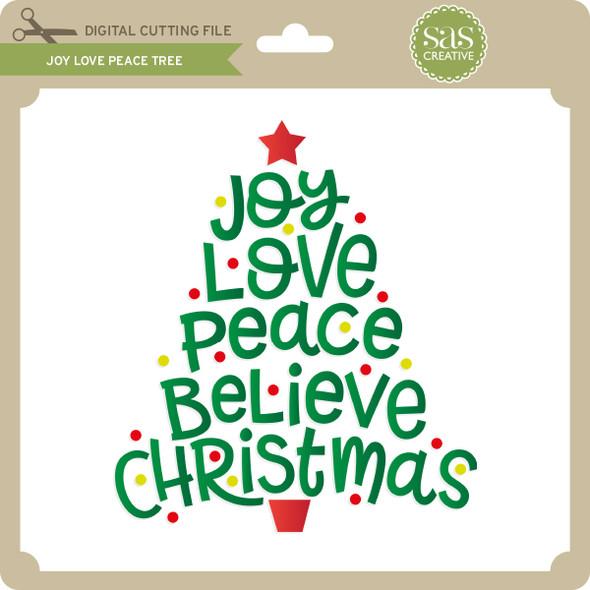 Joy Love Peace Tree