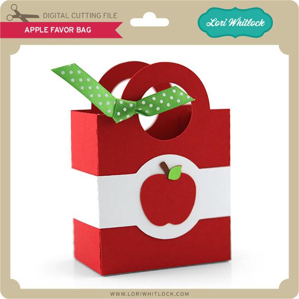 Apple Favor Bag