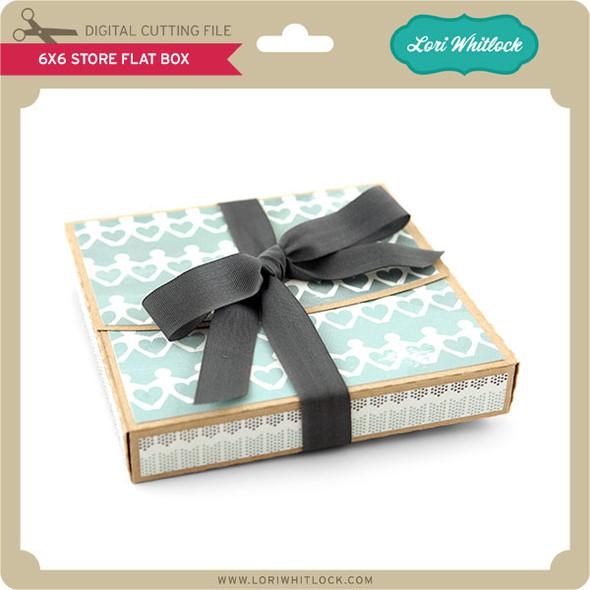 6x6 Store Flat Box