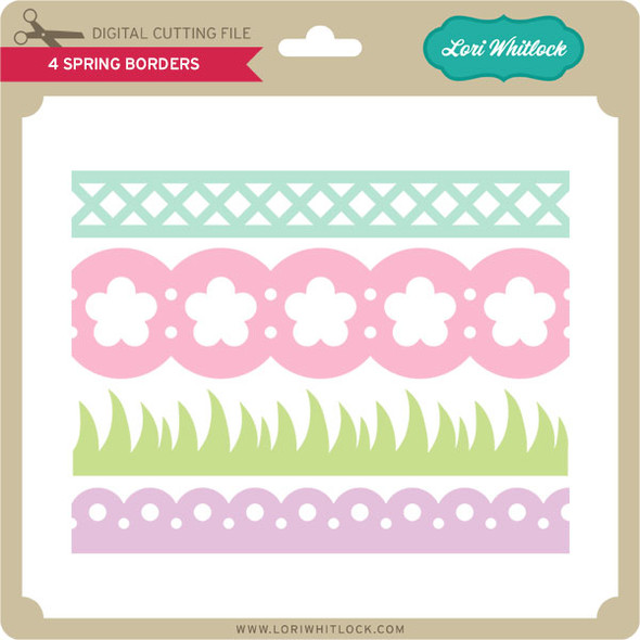 4 Spring Borders