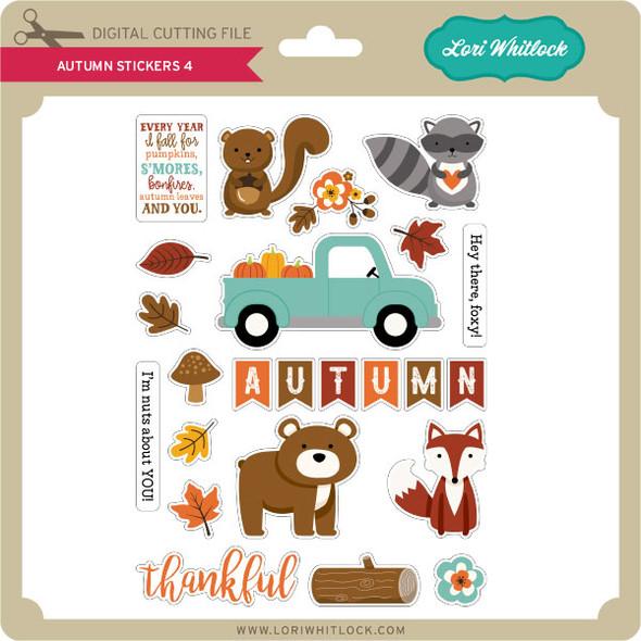 Autumn Stickers 4