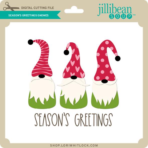 Season's Greetings Gnomes