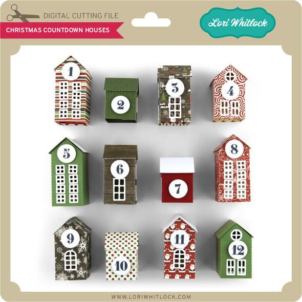 Christmas Countdown Houses