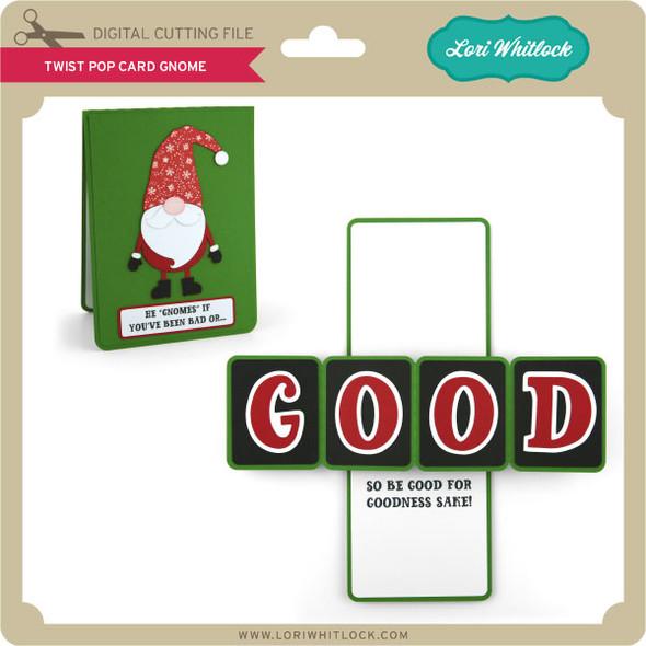 Twist Pop Card Gnome