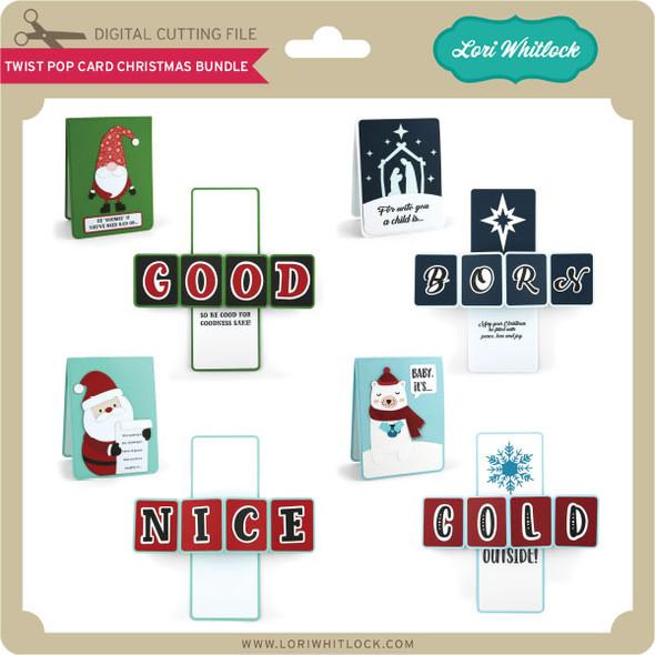 Twist Pop Card Christmas Bundle