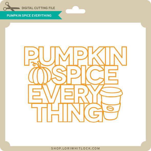 Pumpkin Spice Everything 2