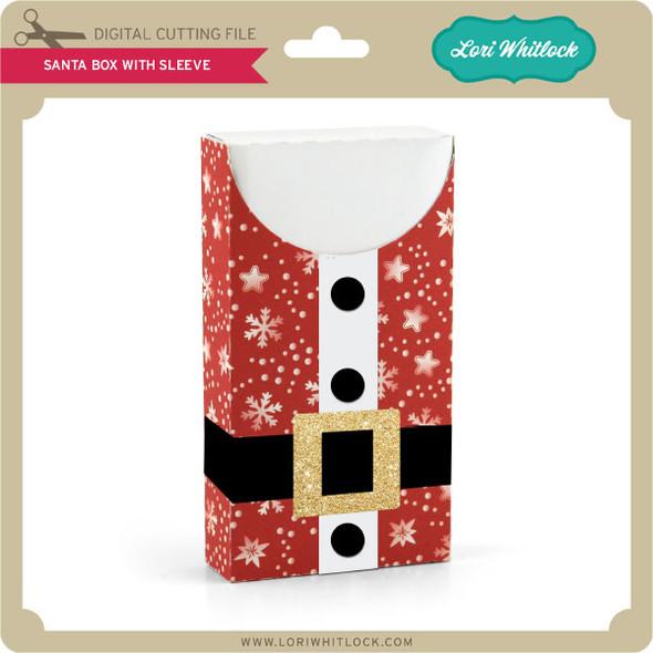 Santa Box with Sleeve