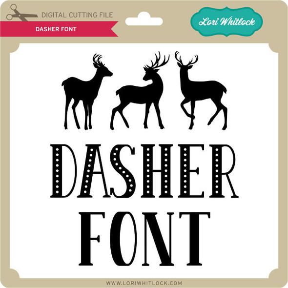 Dasher Font