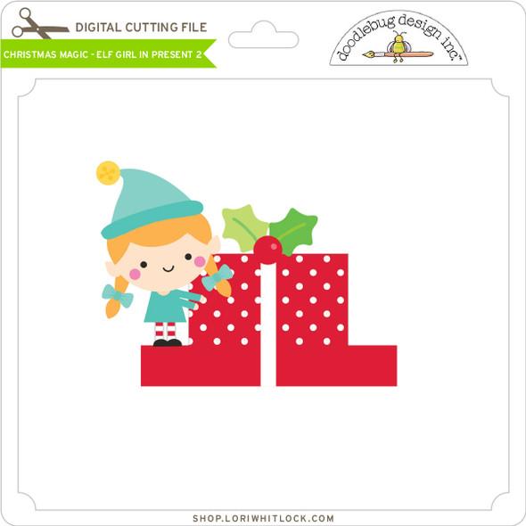 Christmas Magic - Elf Girl in Present 2