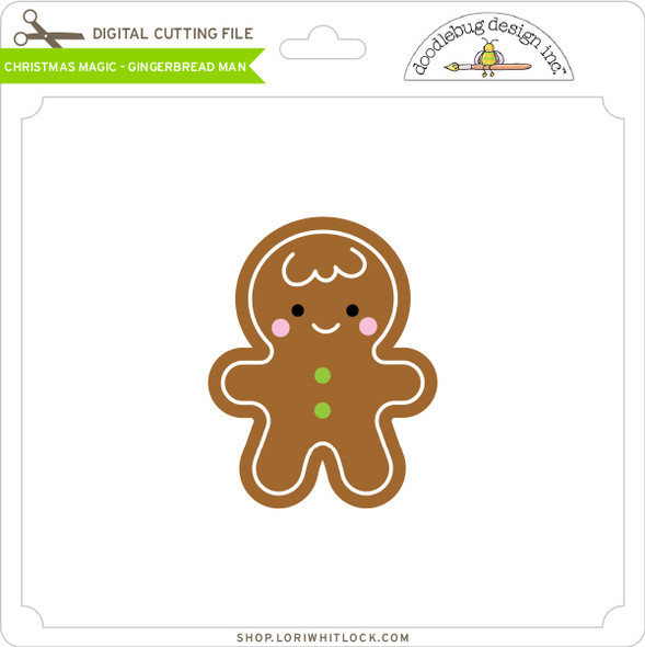 Christmas Magic - Gingerbread Man