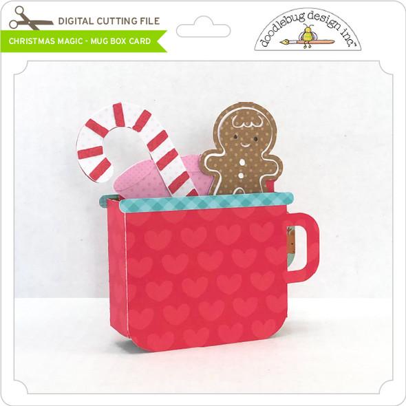 Christmas Magic - Mug Box Card
