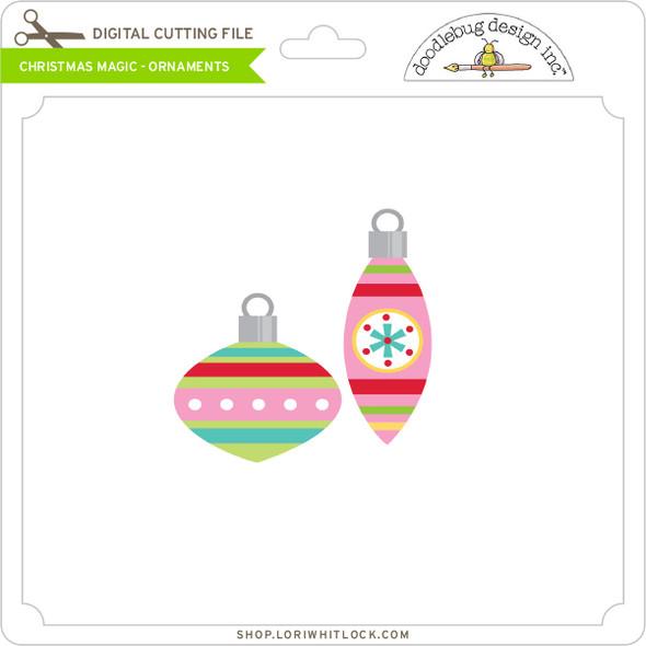 Christmas Magic - Ornaments