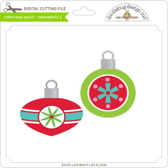 Christmas Magic - Ornaments 2