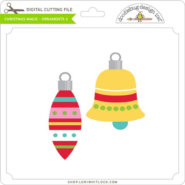 Christmas Magic - Ornaments 3