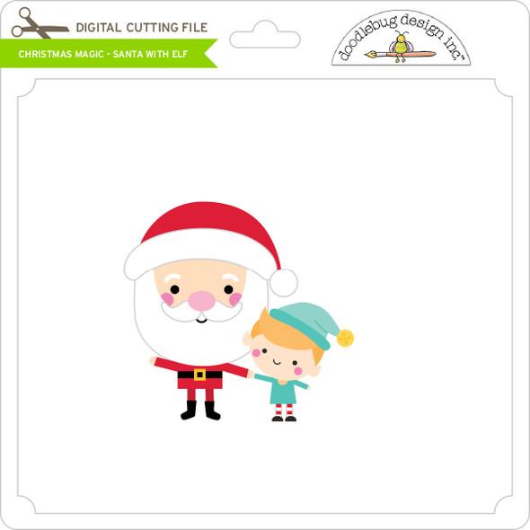 Christmas Magic - Santa with Elf