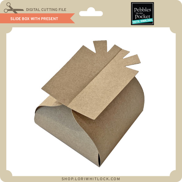 Slide Box with Present