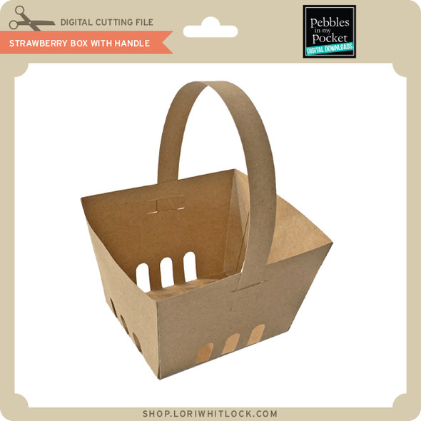 Strawberry Box with Handle