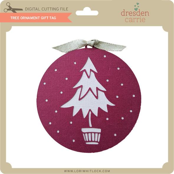 Tree Ornament Gift Tag