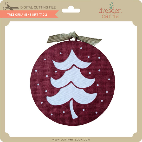 Tree Ornament Gift Tag 2