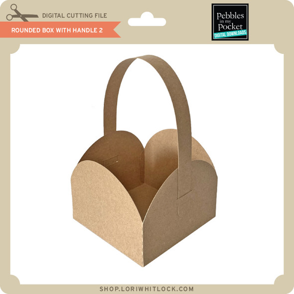 Rounded Box with Handle 2