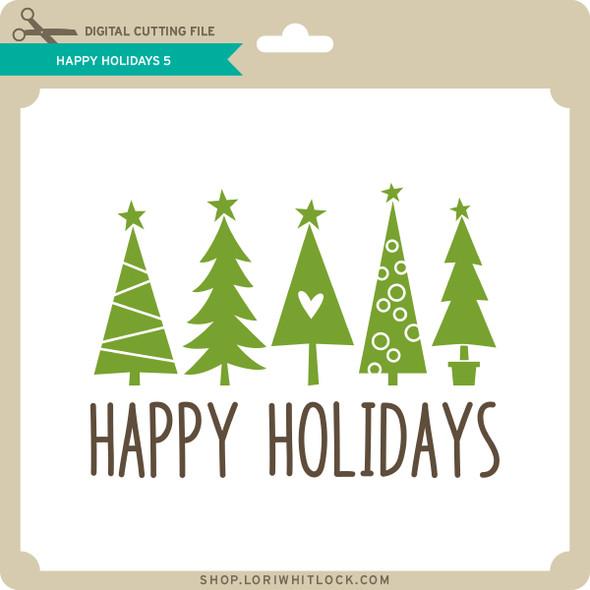 Happy Holidays 5