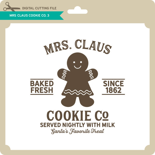 Mrs Claus Cookie Co 3