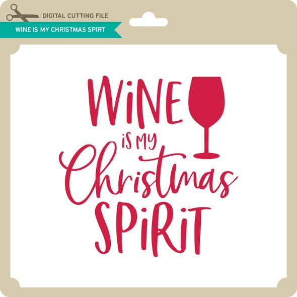 WIne is My Christmas Spirit