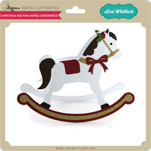 Christmas Rocking Horse Centerpiece