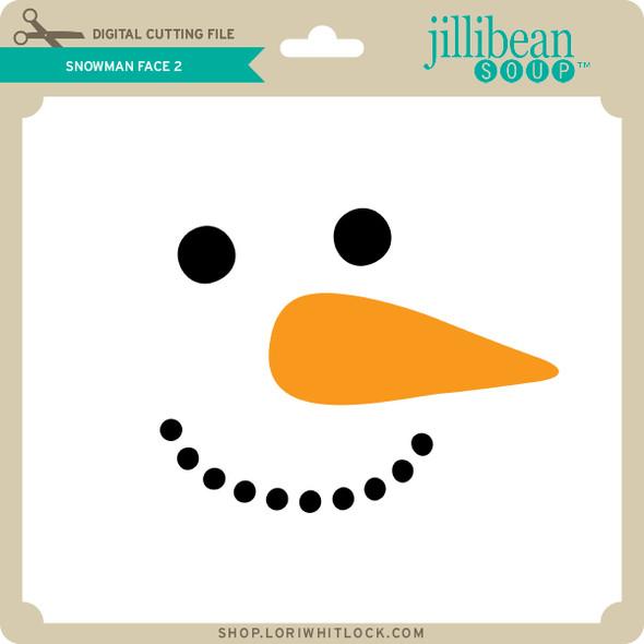 Snowman Face 2
