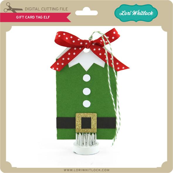 Gift Card Tag Elf