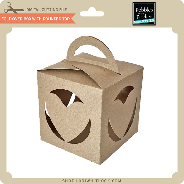 Fold Over Box with Rounded Top