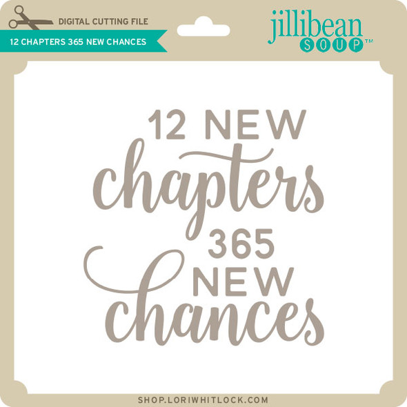 12 Chapters 365 New Chances
