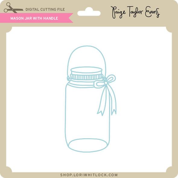 Mason Jar With Handle